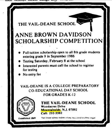 vail-deane-scholarship-jan-1-1986