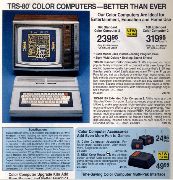 color-computer-ii