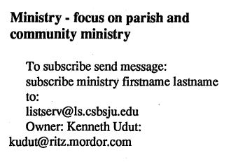ministry-list